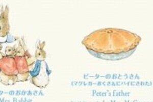 本当は恐い?ピーターラビットに仰天 父親はパイに、甥たちも「皮をはいで頭を…」