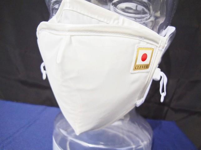 羽生選手が着用したマスク(くればぁ提供)