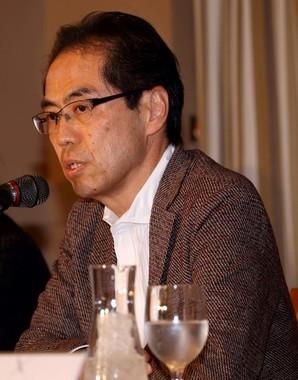 古賀茂明氏(2月25日撮影)