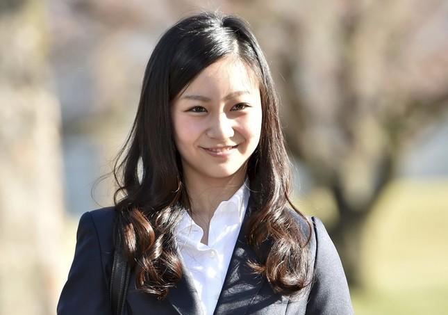 入学式に出席された佳子さま(写真:代表撮影/ロイター/アフロ )