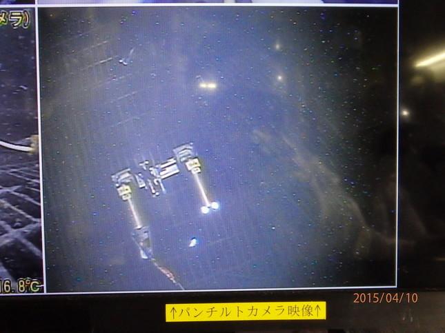 ロボットは移動開始から3時間後には動けなくなった(提供:国際廃炉研究開発機構)