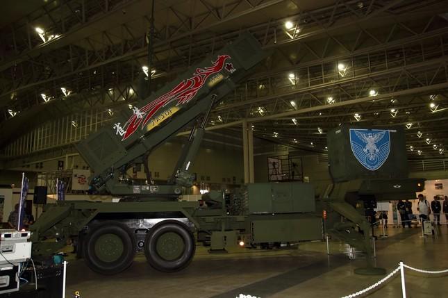 自衛隊はパトリオットミサイルを展示