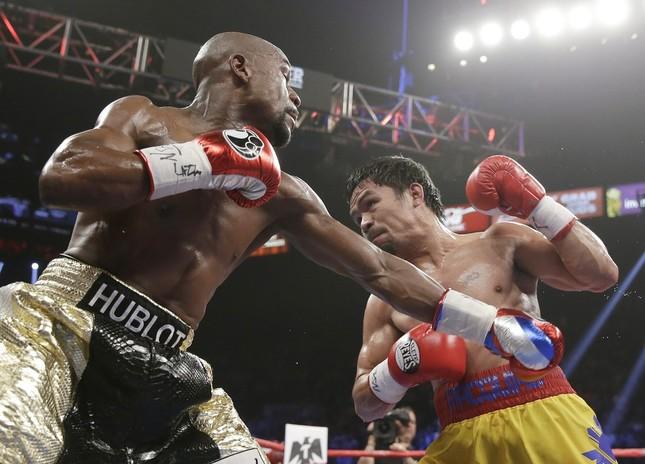 リング上での再戦はあるのか(写真:AP/アフロ)