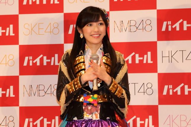 渡辺麻友さんは速報段階では3位だった