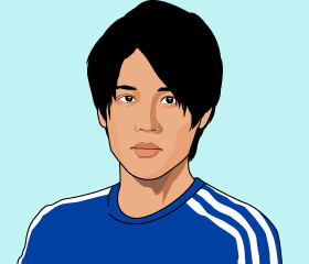 甘いマスクで女性から大人気の内田篤人選手