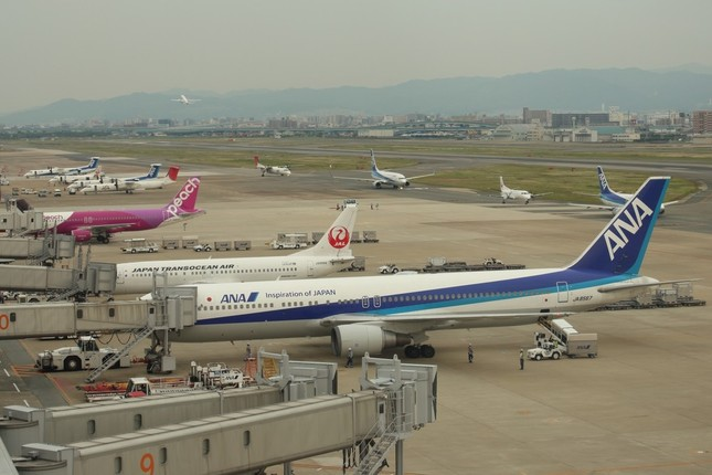 全国からAKB48グループのメンバーが福岡に集まった(写真は福岡空港)