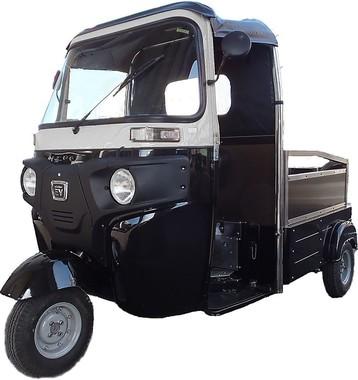「三輪車の概念を変える」というエレクトライク(写真は日本エレクトライク社提供)