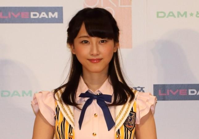 SKE48からの「卒業」を表明した松井玲奈さん(2014年7月撮影)