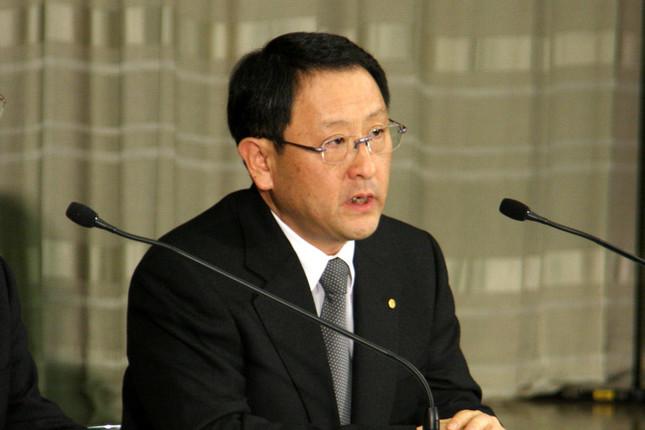 トヨタが発行を予定するのは新たな「種類株」(2013年5月撮影)