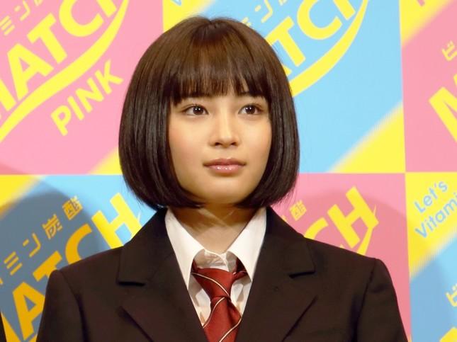 広瀬すずさん(2015年4月)