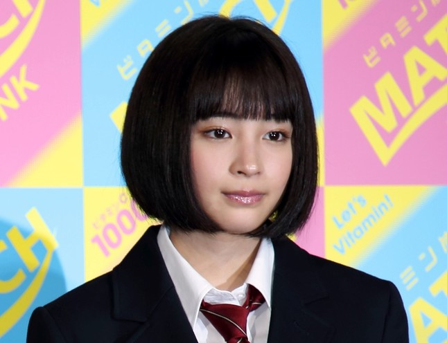 広瀬すずさん(2015年4月撮影)