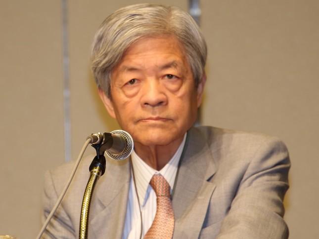 田原さんは「逃げた!」と非難(2014年12月撮影)