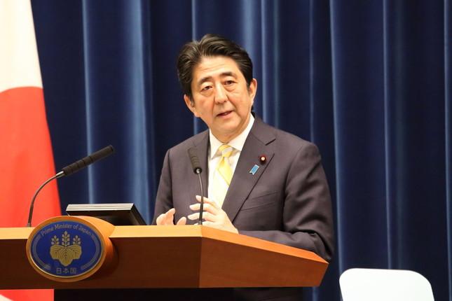 安倍首相は維新との修正協議に期待感を示した