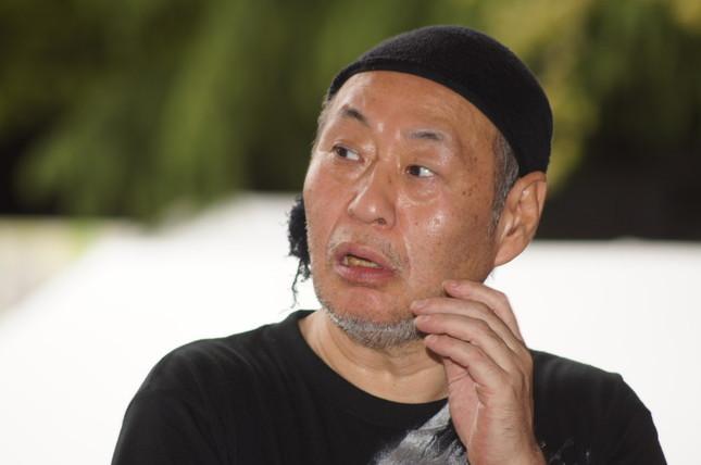 泉谷さんのパフォーマンスに賛否分かれる(2012年撮影)
