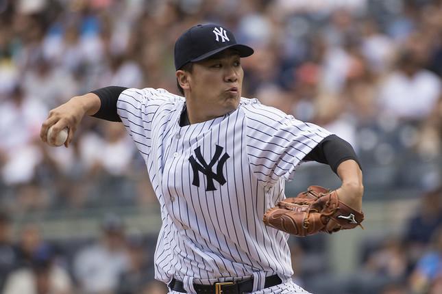 田中の活躍は甲子園球児にも夢を与える(写真:USA TODAY Sports/アフロ)