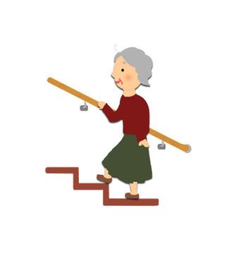 階段の上り下りは日課にしよう