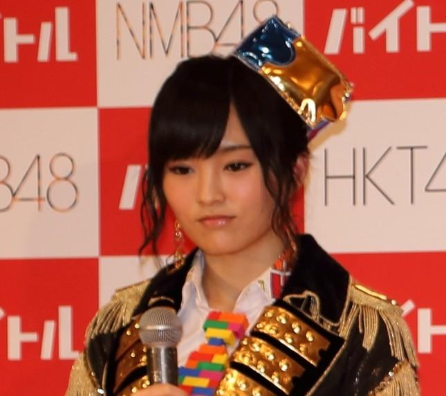 山本彩さん着用といつわった水着が出品された(画像は14年6月撮影)