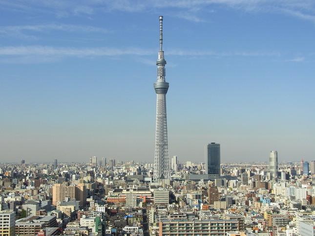 2015年度の日本建築学会賞(技術)を受賞した東京スカイツリー
