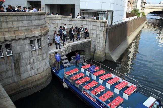 万世橋の船着き場は1930年の建設時に整備された