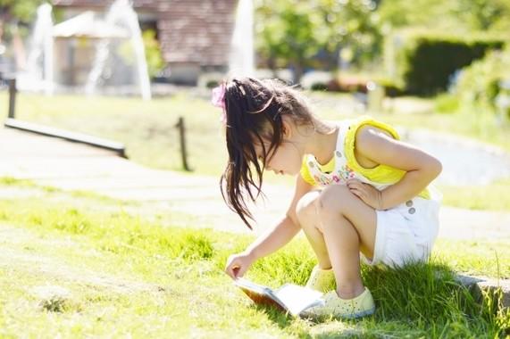 日差しが強い場所で長時間子どもを遊ばせないようにご注意を
