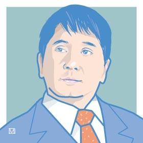 「サンデージャポン」で山口もえさんとの結婚を生報告した爆笑問題・田中裕二さん