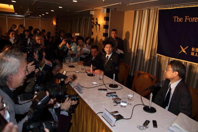 日本外国特派員協会では多くの記者会見が開かれる(写真はイメージ)