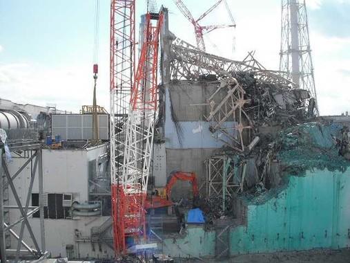 男性は1年1か月にわたって福島第1原発で作業に携わった(2012年撮影、提供:東京電力)