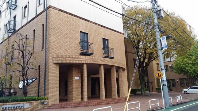 新スタジオ建設に揺れる女子学院(2015年12月3日撮影)