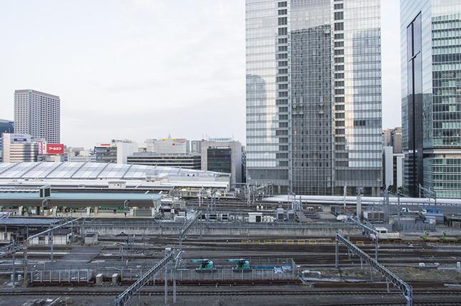 JR横須賀線は東京駅の地下を走る