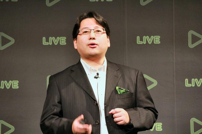 LINEの映像配信事業について語る舛田氏