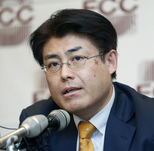 朝鮮日報は産経新聞・加藤達也前ソウル支局長の無罪判決後も「誤報を恥じない『言論の自由の闘士』」と非難し続けている(写真:Lee Jae-Won/アフロ)