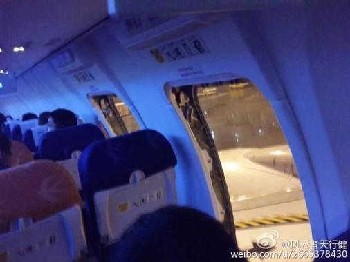 「ブラックリスト」入りした中国人観光客は、飛行機の非常口を勝手に開けたことが問題視された