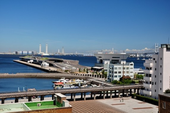 港町・横浜は絶好のお散歩ジョギングコース