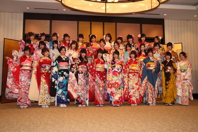 イベントには姉妹グループを含めて32人が参加した