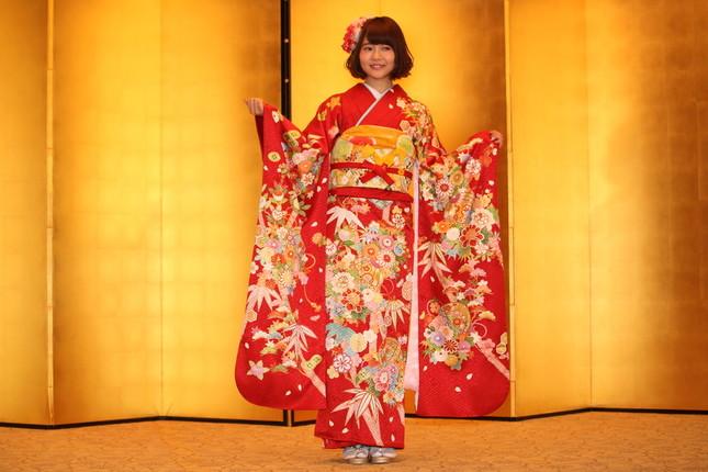 HKT48から唯一参加した穴井千尋さん
