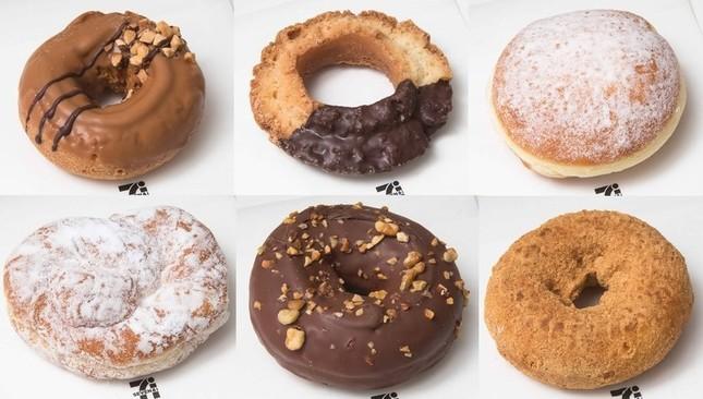 セブン-イレブンはレジ横のドーナツを一新する。1月19日から6種類が発売される