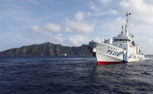 尖閣諸島は2012年9月に国有化された(写真:ロイター/アフロ)