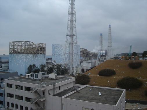 事故から数日後に「炉心溶融」は発表できたはずだった(2011年3月15日、東京電力撮影)