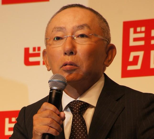3月の入社式は「ブラック企業」なのか・・・(写真はファーストリテイリングの柳井正会長兼社長、2012年9月撮影)