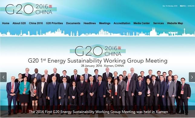 中国経済の行方が世界経済の今後を左右する(画像は、G20公式サイトのスクリーンショット)