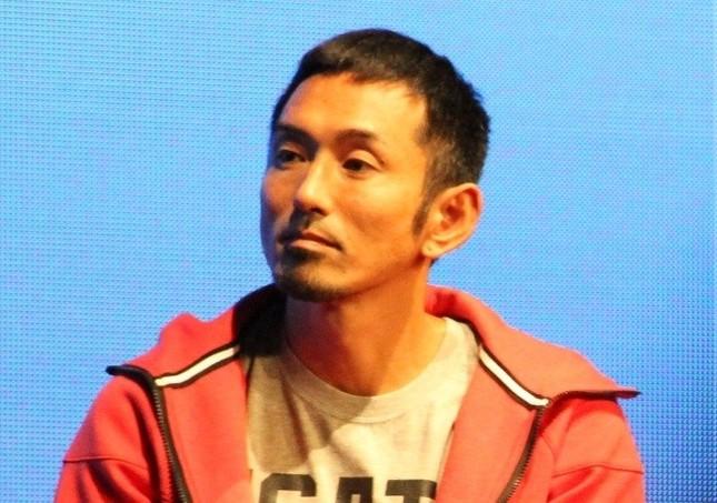 為末大さんら日本人アスリートがドーピング検査について発言している(写真は2013年10月撮影)