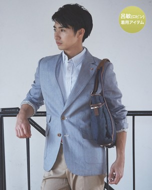 SPENCE BRYSON ヘリンボーン麻ジャケット 希望小売価格63720円 → 25500円