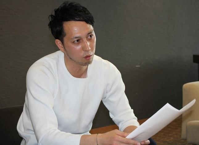 エアラン東京ランニングクラブ代表と、実業団サンベルクス陸上部ヘッドコーチを兼ねる田中正直さん
