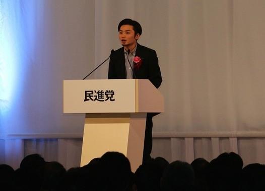 「SEALDs」の奥田愛基氏も出席した