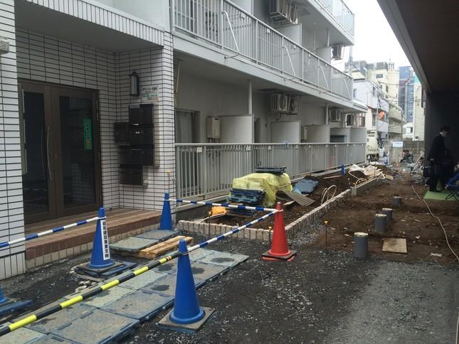 寺内樺風容疑者が住んでいたとされる東京都中野区東中野のアパート