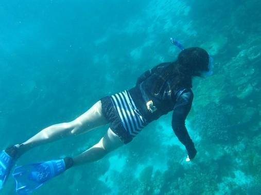 海の中を潜るには独特の呼吸法が必要(写真はイメージです)