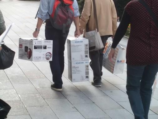 中国の関税引き上げで、「爆買い」に冷や水・・・