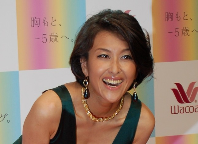 「テレビ引退」を示唆した岡本夏生さん(2010年9月撮影)