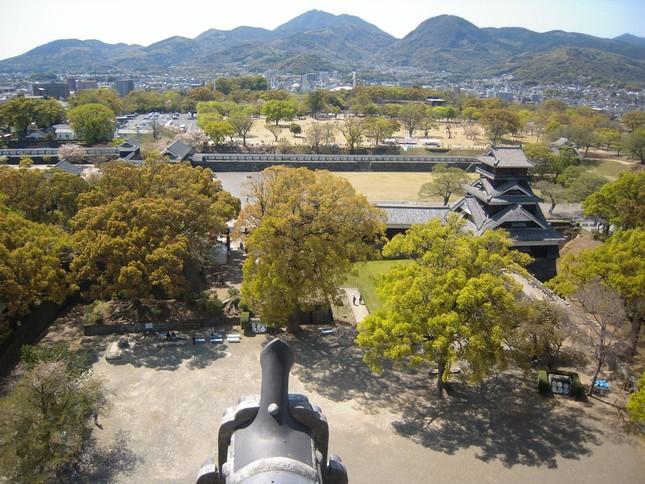 熊本県内で最大震度7を観測する強い地震が観測された(撮影は地震前)