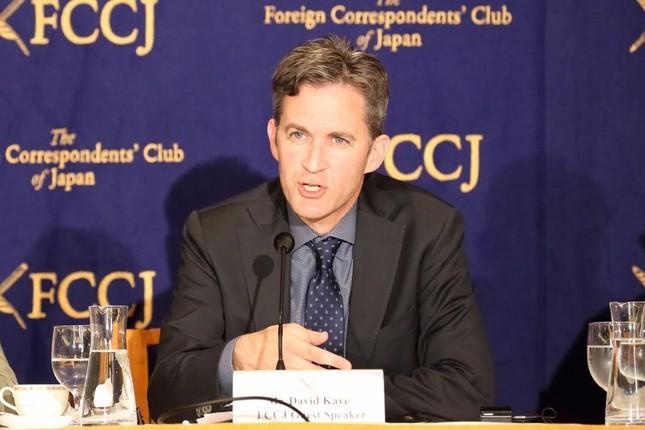 デビッド・ケイ国連特別報告者は、日本の「メディアの独立性」について繰り返し懸念を表明した